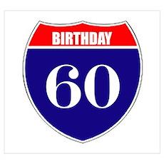 60th Birthday! Poster