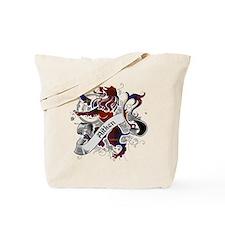 Aitken Tartan Lion Tote Bag