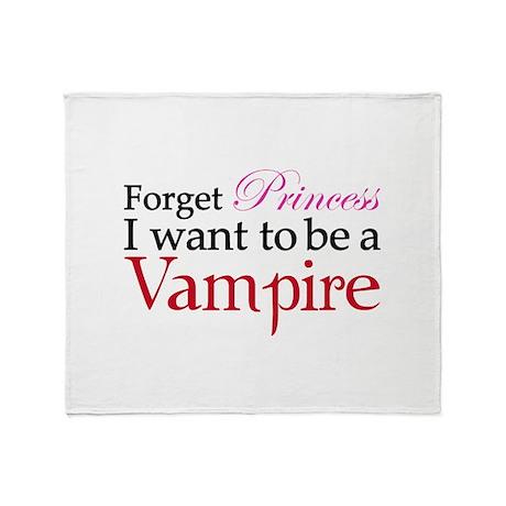 Forget princess Throw Blanket