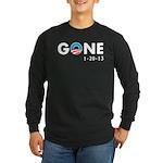 Obama Gone Long Sleeve Dark T-Shirt