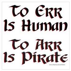 TO ARR IS PIRATE Poster