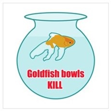 Goldfish Bowls Kill Canvas Art