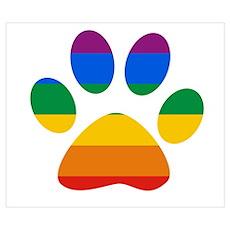 Bear Paw Pride Poster