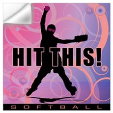 2011 Softball 95 Wall Decal