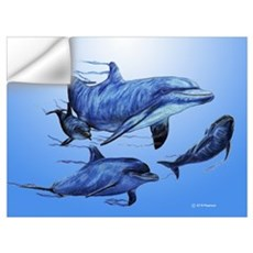 Dolphin Family Wall Decal