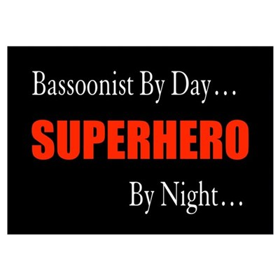 Bassoonist Gift Poster