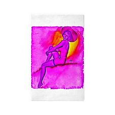 Purple Helix Fractal iPad Sleeve