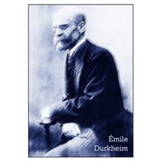 Émile Durkheim Poster