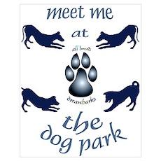 Dog Park Poster