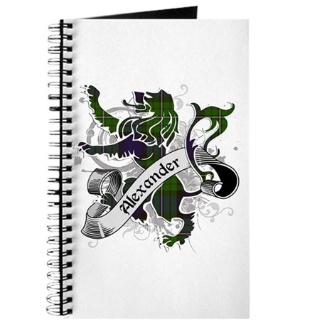 Alexander Tartan Lion Journal