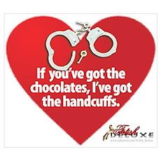 Bondage Valentine Poster