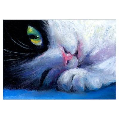Tuxedo Cat 2 Poster