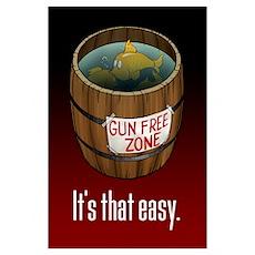 Fish Barrel: (11x17) Poster