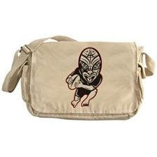 Maori Rugby player Messenger Bag