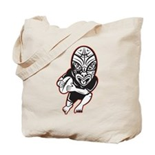 Maori Rugby player Tote Bag
