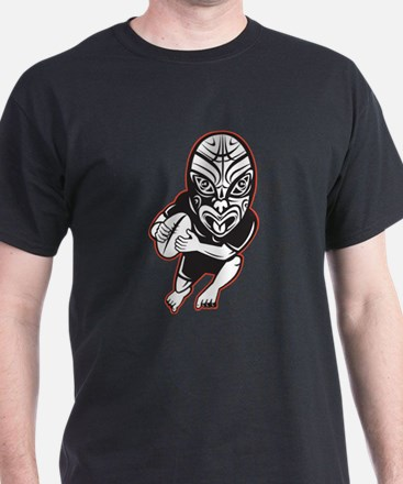 Maori Rugby player T-Shirt
