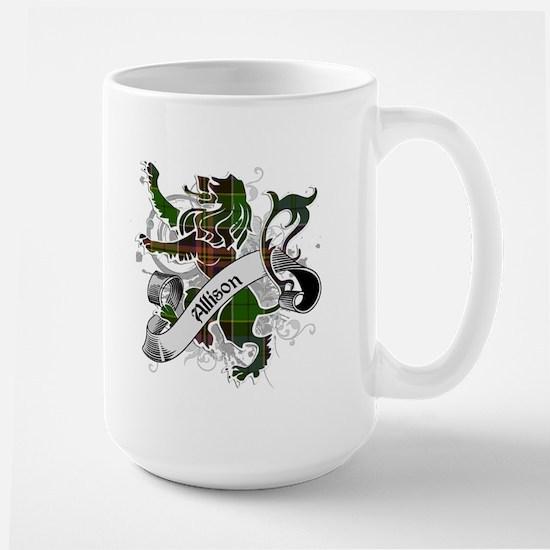Allison Tartan Lion Large Mug