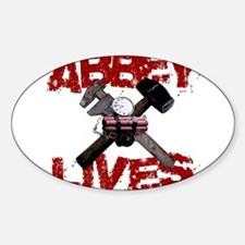 Abbey Lives! Decal