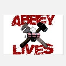 Abbey Lives! Postcards (Package of 8)