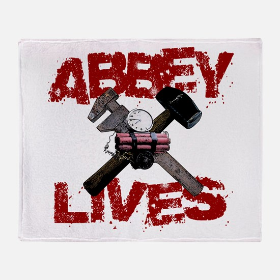 Abbey Lives! Throw Blanket