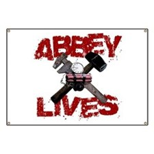 Abbey Lives! Banner