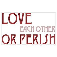 Love or Perish Poster