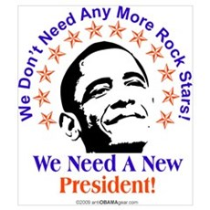 Obama Rock Star Poster