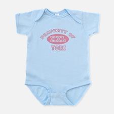 Property of Tori Infant Bodysuit