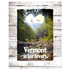 Vermont is for Lovers Poster