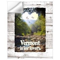Vermont is for Lovers Wall Decal
