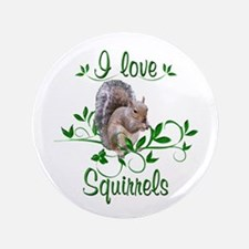 """I Love Squirrels 3.5"""" Button (100 pack)"""