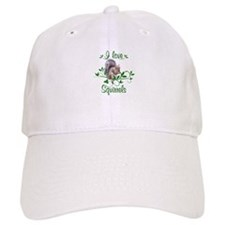 I Love Squirrels Baseball Cap