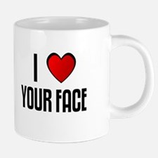 Cute I heart all my children 20 oz Ceramic Mega Mug