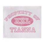 Property of Tianna Throw Blanket