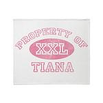 Property of Tiana Throw Blanket