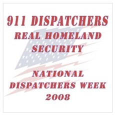 National Dispatchers Week Poster