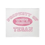 Property of Tegan Throw Blanket