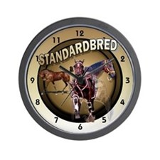 Foal to Racing Wall Clock