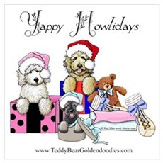 Yappy Howlidays Poster