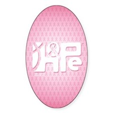 Think Hope (White/Pink) Decal