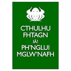 Keep Calm Cthulhu Poster