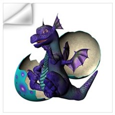 Little Dragon Wall Decal