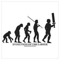 Evolution of the LARPer Poster