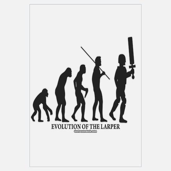 Evolution of the LARPer