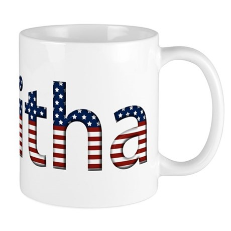Tabitha Stars and Stripes Mug