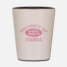 Property of Tamia Shot Glass