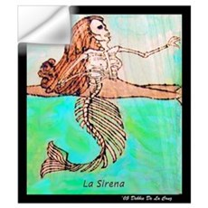La Sirena Wall Decal