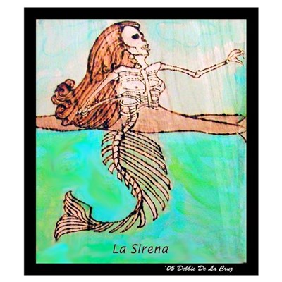 La Sirena Canvas Art