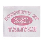 Property of Taliyah Throw Blanket