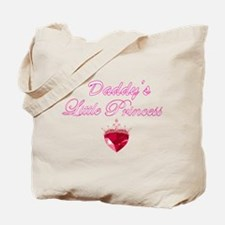 daddy's little princess Tote Bag